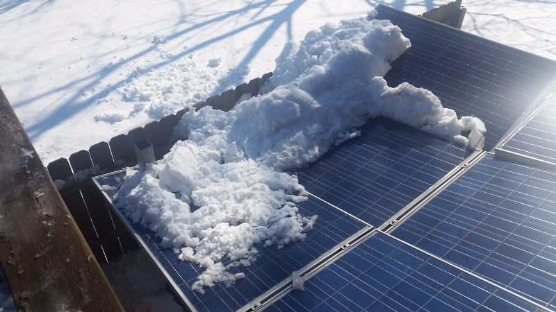 Solar Energy Systems - Damage to panels and racking from weight of ice and snow