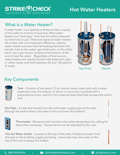Adjuster Education: Water Heaters