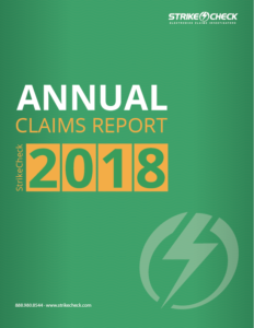 StrikeCheck 2018 Annual Claims Report
