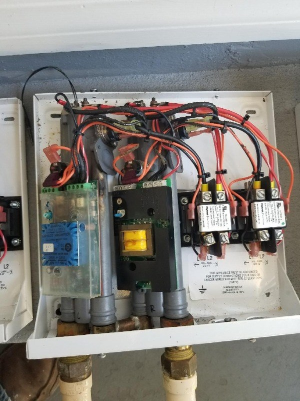Surge damage - tankless water heaters