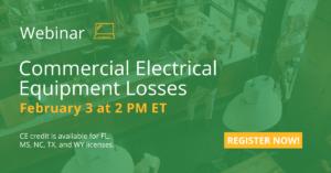 Commercial Electrical Equipment Adjuster Webinar